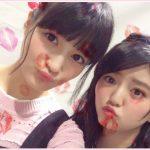 欅坂46鈴本美愉が「けやかけ」で織田奈那にまたがり大興奮!