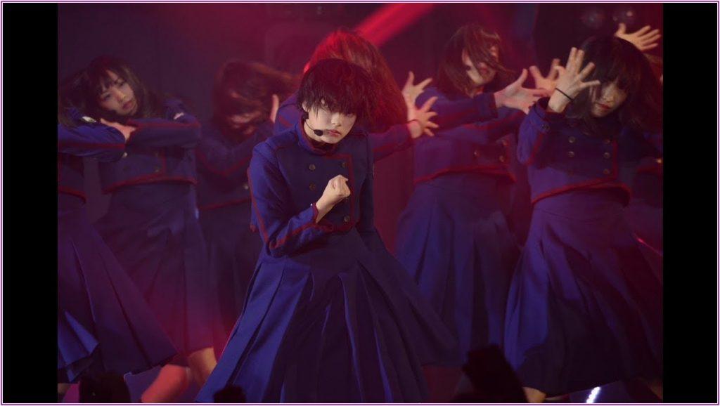 かっこいいダンスの平手友梨奈